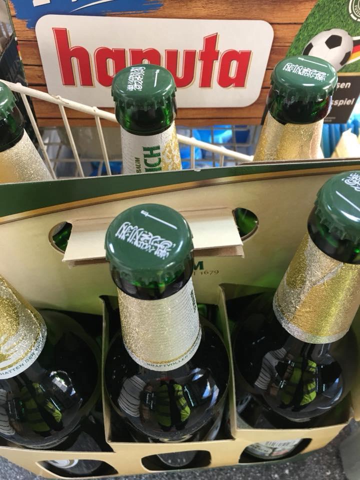 Wie der Prophet auf die Bierflasche geriet