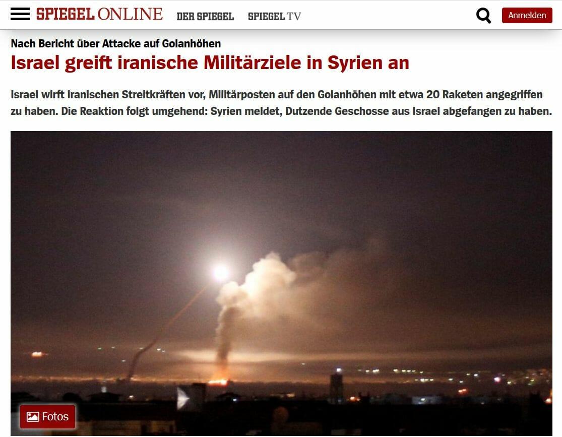 """Israelische Armee greift laut """"Spiegel"""" aufgrund von Hörensagen an"""