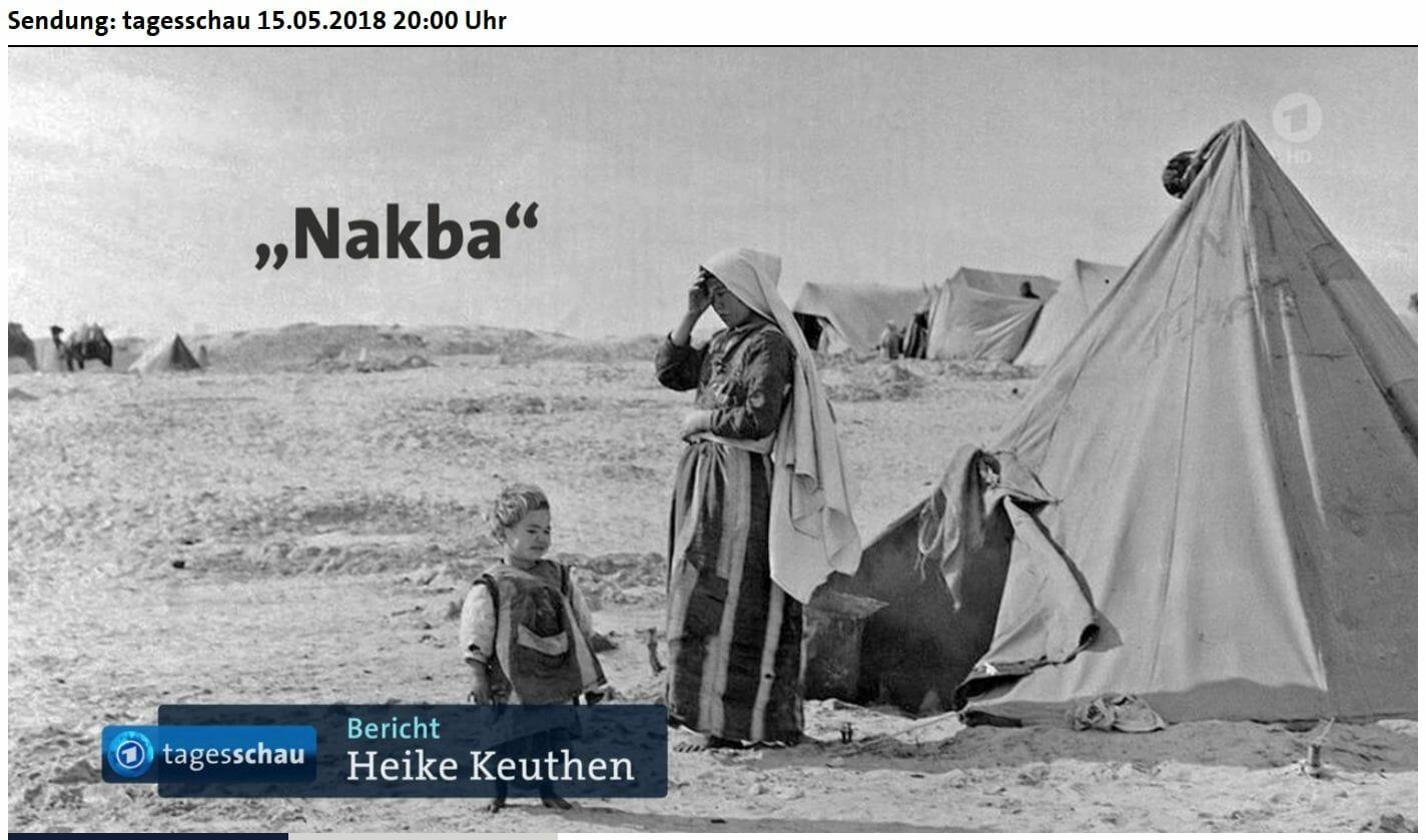 """Das """"Recht auf Rückkehr"""": Nakba-Festspiele bei ARD und ARTE"""