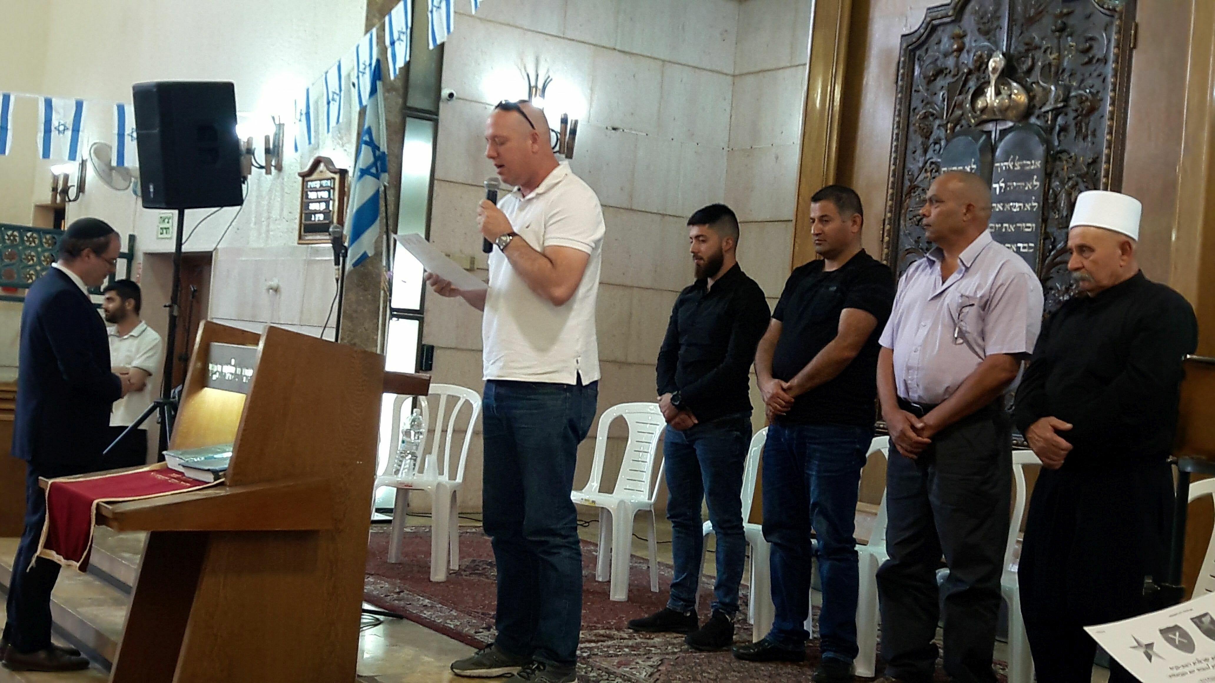 Vertreter der Minderheiten feiern Israels Unabhängigkeit