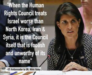 UN-Menschenrechtsrat: Warum die Europäer dem amerikanischen Beispiel folgen sollten