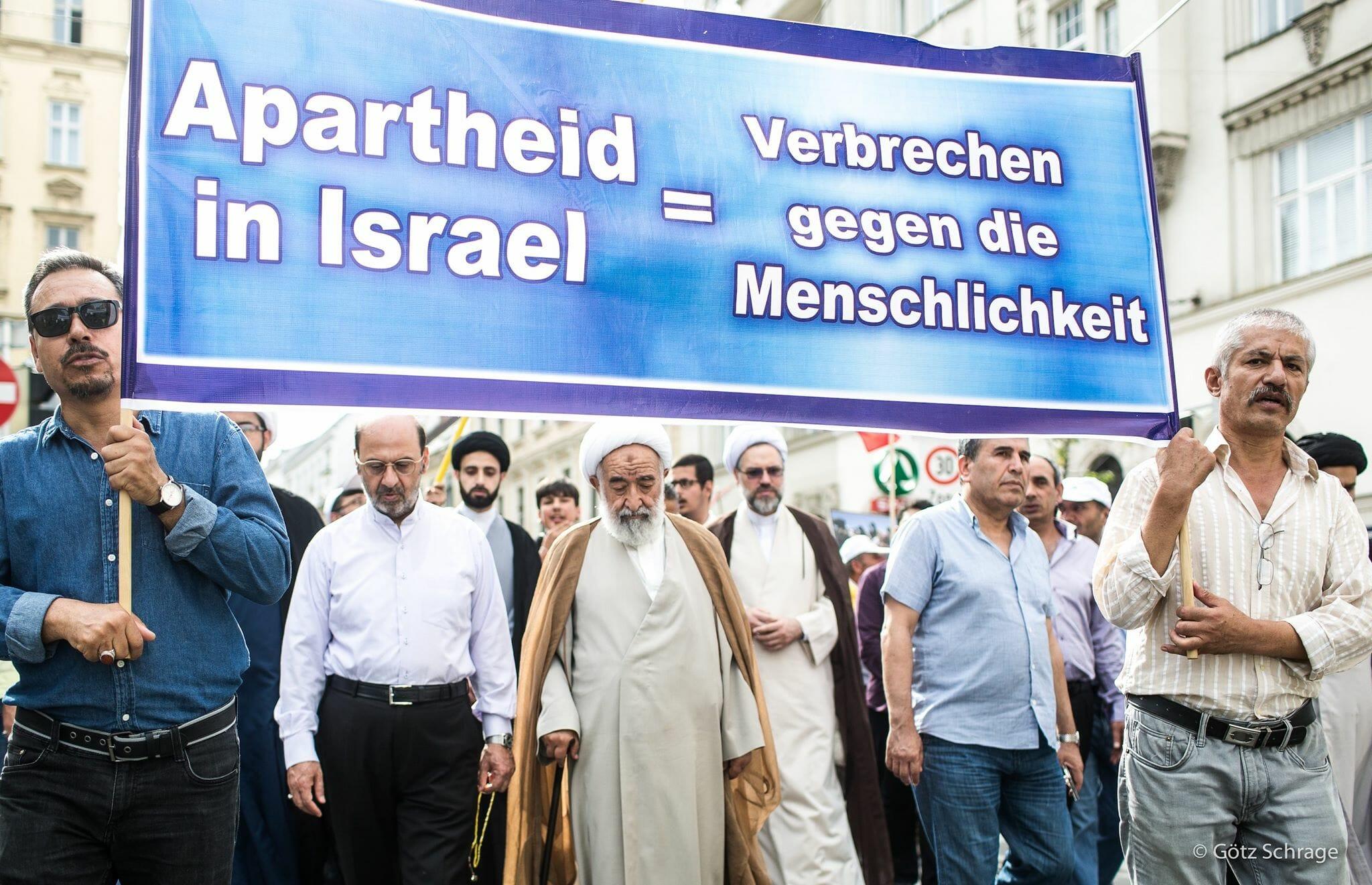 Antisemitische Pflichtübung zum Al-Quds-Tag