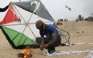 Feuerdrachen als neue Terror-Waffe der Palästinenser