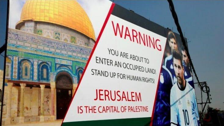 Kein Messi in Jerusalem: ein antisemitischer Coup