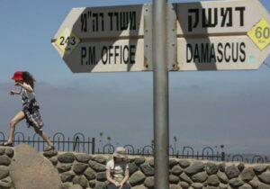 Arabische Führer erkennen Israels Souveränität über den Golan nicht an