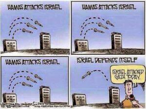 """""""Aber melde Dich, wenn die Israelis zurückschlagen"""""""