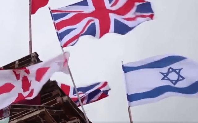 Warum katholische Nationalisten in Nordirland Israelfahnen verbrennen
