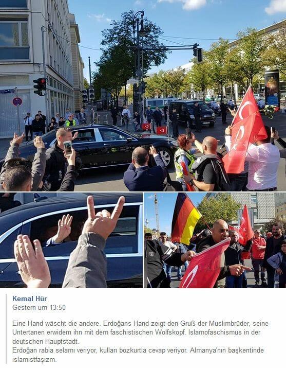 Türkischer Präsident Erdogan: Benzino Napaloni zu Besuch in Tomanien