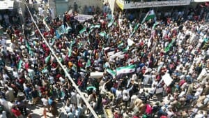 Idlib: Demonstrationen gegen Offensive des Assad-Regimes