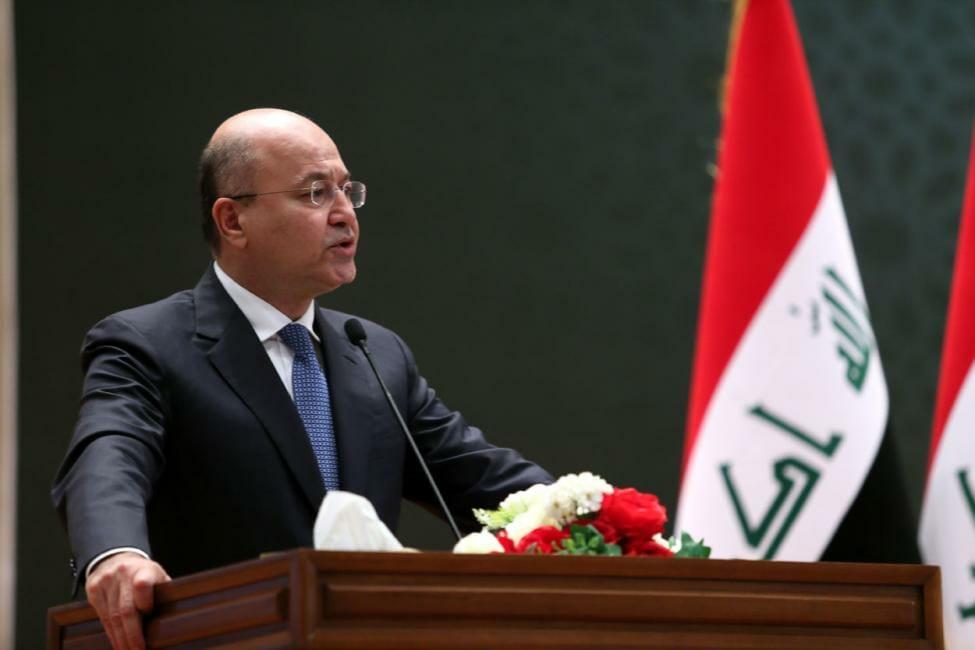 Als Berham Saleh noch nicht Präsident des Irak war