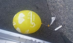 Neue Taktik der Hamas: Brandballons mit Kinderspielzeug