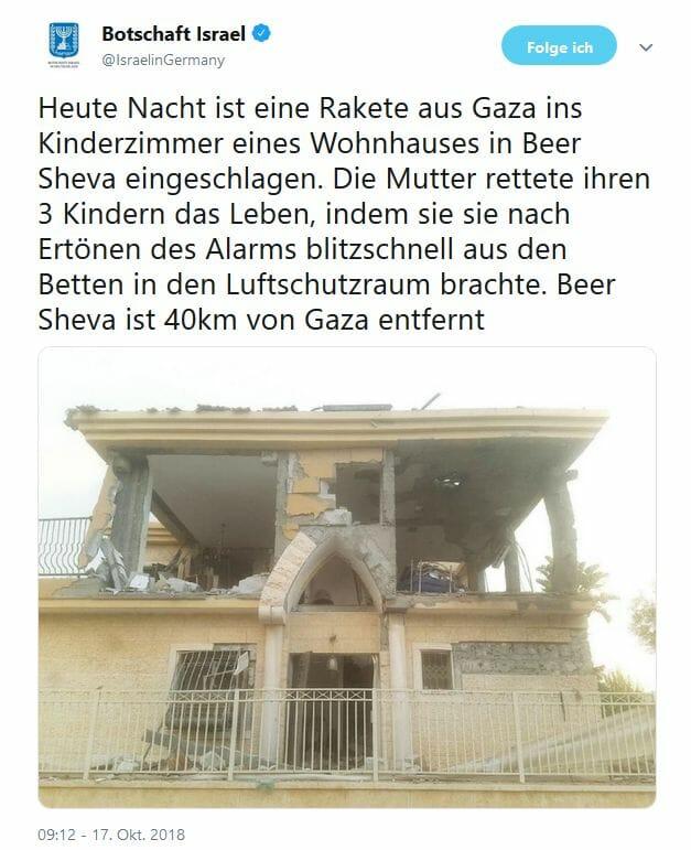 Israel: Ein Krieg mit Gaza wird immer wahrscheinlicher