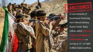 USA gehen gegen iranische Basij-Miliz vor, die Kindersoldaten rekrutiert
