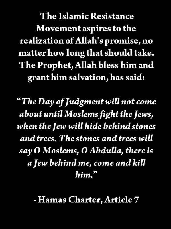 Die Taktik der Hamas spiegelt ihren Vernichtungswunsch wieder