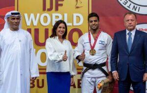Premiere: Israelische Hymne bei Wettkampf in Abu Dhabi