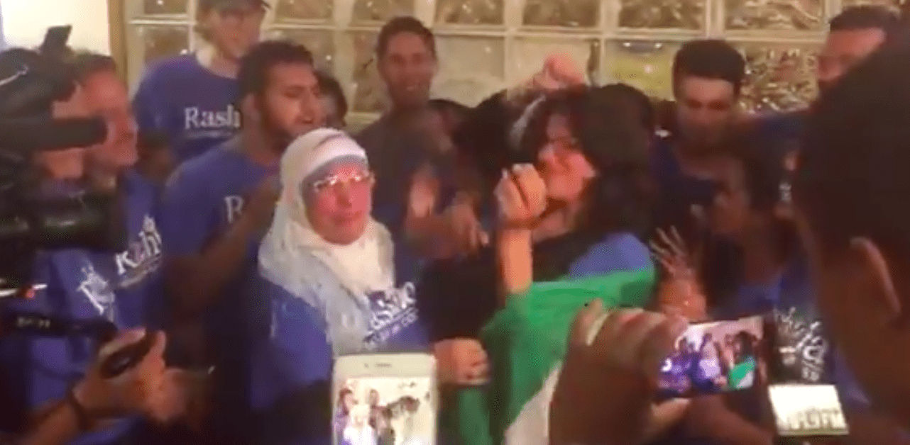 """US-Abgeordnete Rashida Tlaib: Vereidigung in """"palästinensischer Tracht"""""""