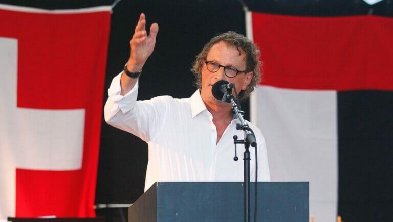 Der Schweizer Politiker Geri Müller