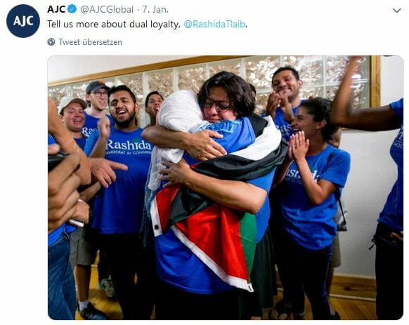 Rashida Tlaib: Antisemtische Geschichtsklitterung einer US-Demokratin