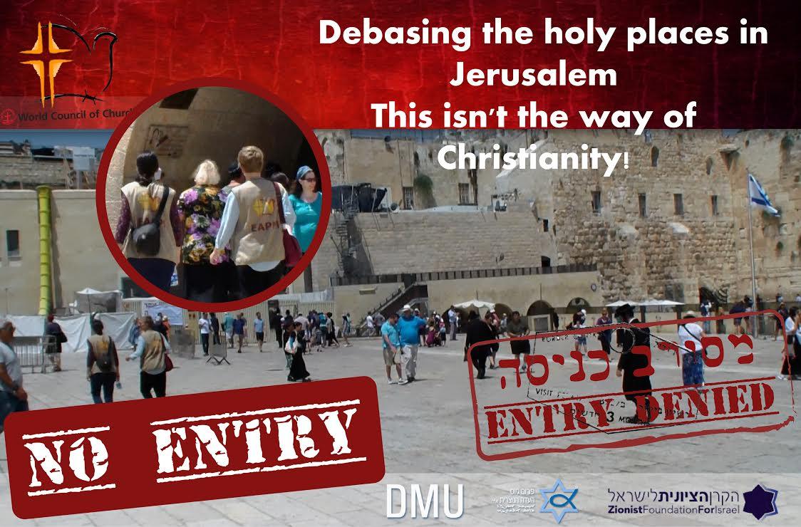 Die verkleideten Pilger – Anti-israelischer Tourismus (Teil 1)
