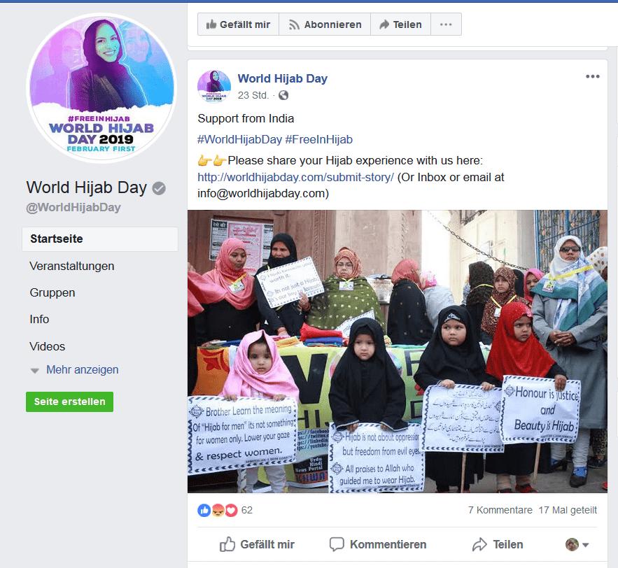 """""""Free Hijab Day"""": Wenn ein Bild mehr sagt als 1000 Worte"""