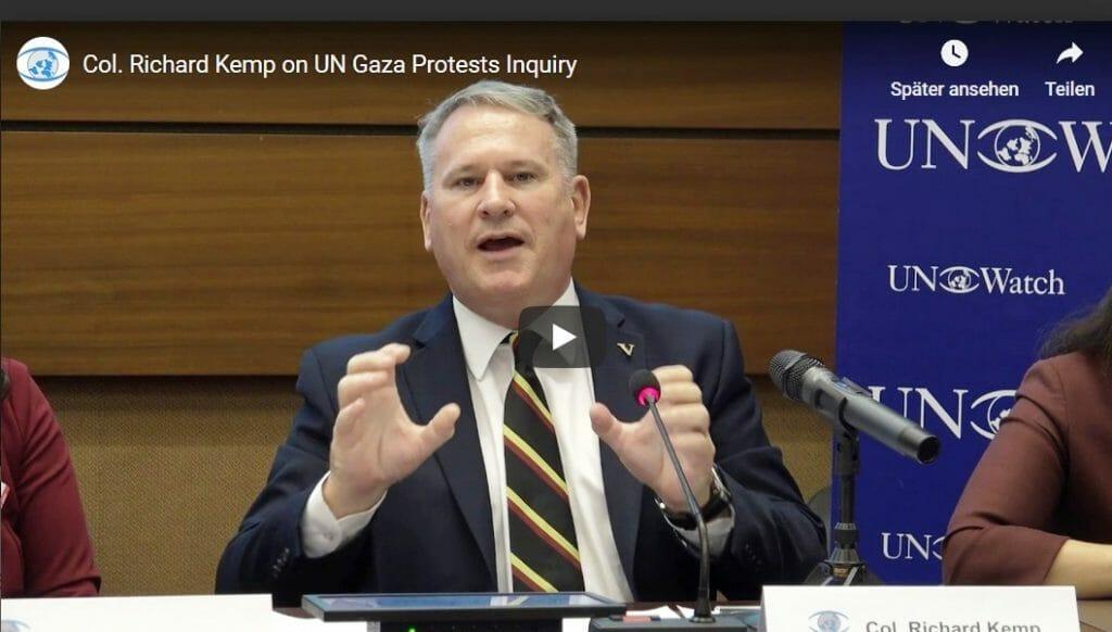 """""""Der UN-Menschenrechtsrat hat direkt der Hamas in die Hände gespielt"""""""