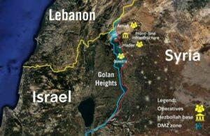 Israel deckt geheimes Hisbollah-Netzwerk an syrischer Grenze auf