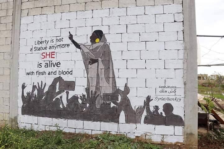 Wie eine Frau zum Symbol des Sturzes von Sudans Diktator Bashir wurde