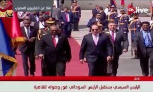 Wieso Ägyptens Präsident beunruhigt ist über die Proteste im Sudan