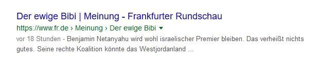 "Deutsche Medien: Die ewige ""Israelkritik"""