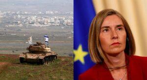 EU erkennt Israels Souveränität über Golanhöhen nicht an