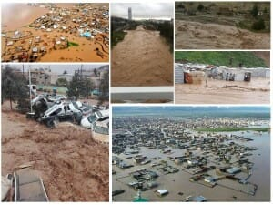 Verheerende Unwetter im Iran