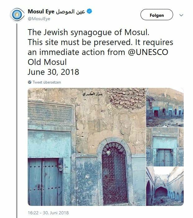 Wie das jüdische Viertel in Mossul die IS-Herrschaft überstehen konnte