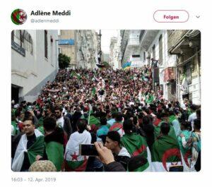 Algerier geben sich mit Zugeständnissen des Regimes nicht zufrieden