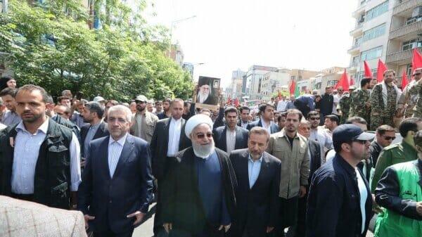 Al-Quds-Marsch: Iran begeht Tag des Hasses gegen Israel