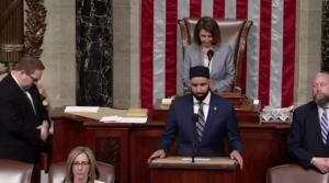 Antizionistischer Imam leitet Eröffnungsgebet im US-Repräsentantenhaus