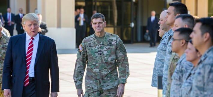 Trump dementiert Stationierung von 120.000 Soldaten im Nahen Osten