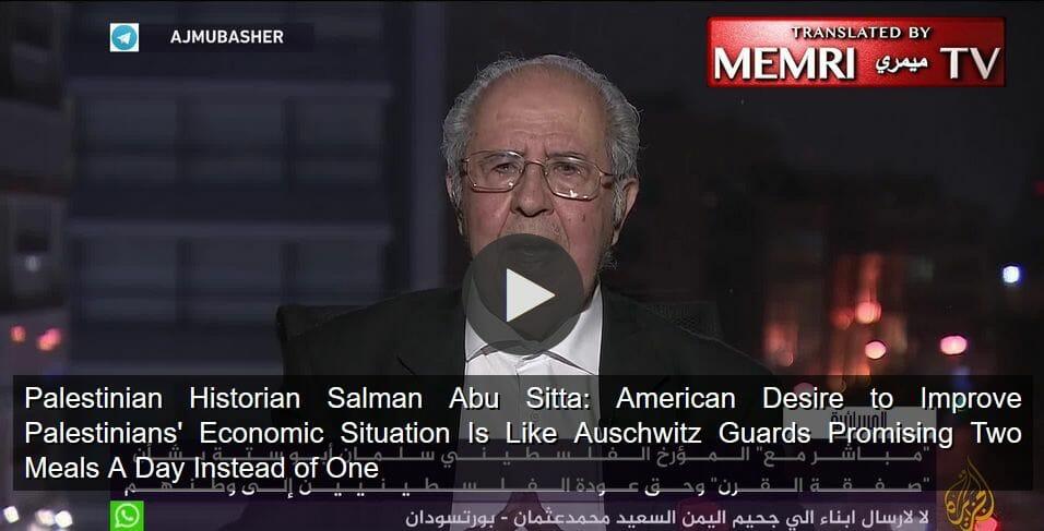Historiker vergleicht Situation der Palästinenser mit Auschwitz