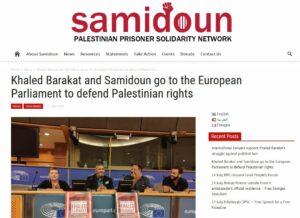 Führungsmitglied der Terrorgruppe PFLP spricht im Europaparlament