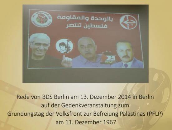 Funktionär der Terrororganisation PFLP darf in Berlin nicht auftreten