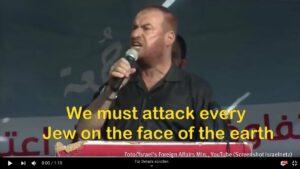 Führer der Terrorgruppe Hamas ruft zu weltweitem Judenmord auf