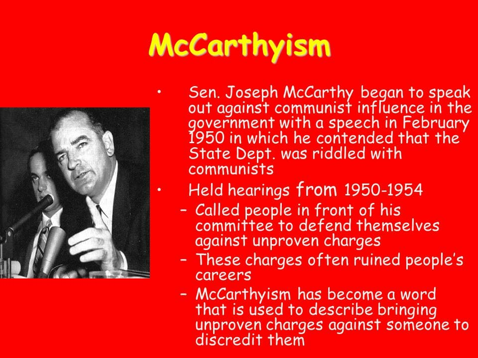Antisemitismuskritik als neuer McCarthyismus?