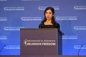 Aktivistin Nadia Murad präsentiert Plan für Rückkehr der Jesiden