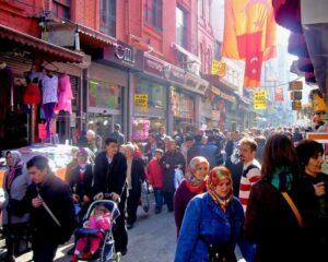 Syrische Flüchtlinge: Türkei lässt arabische Ladenschilder entfernen