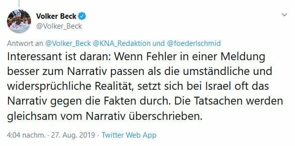 Die Medien und Israel: Wenn Fakten stören