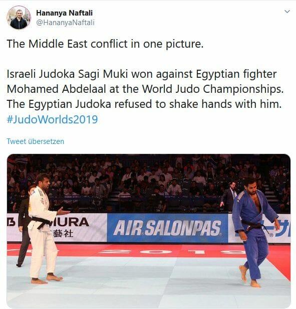 """Antisemitismus trennt, was """"Sport verbindet"""""""