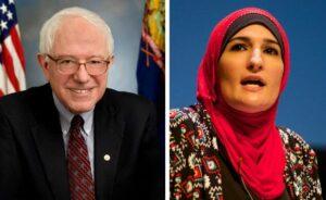 Bernie Sanders und Linda Sarsour