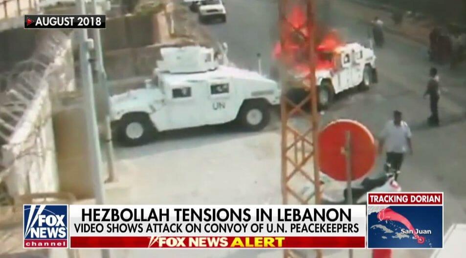 Warum die UNO einen Angriff auf ihre Mitarbeiter im Libanon verschweigt