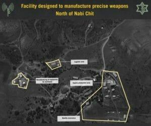 Die Terrororganisation Hisbollah errichtet Fabrik für Präzisionsraketen im Libanon