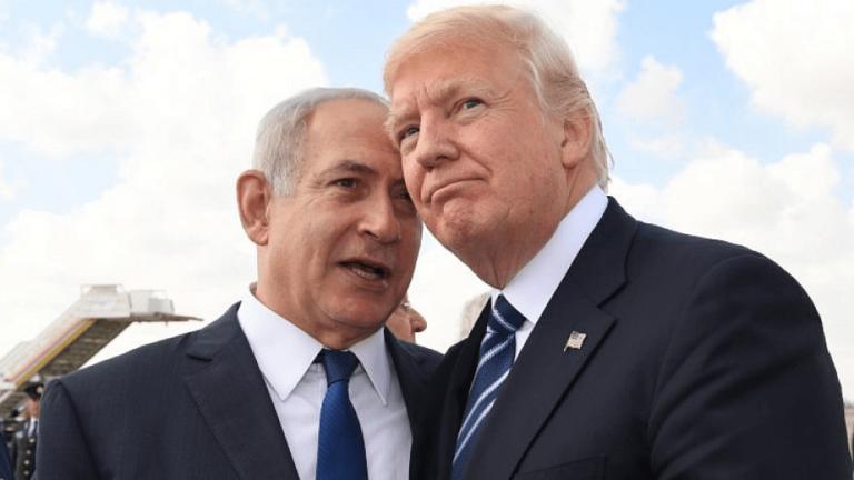Netanjahu und Trump (Kobi Gideon/GPO)