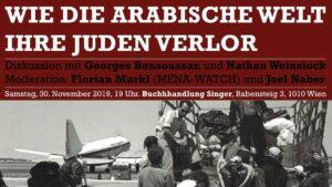 Wie die arabische Welt ihre Juden verlor - Buchpräsentation in Wien